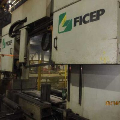Ficep CNC Beam Line-Model 1203DBJ