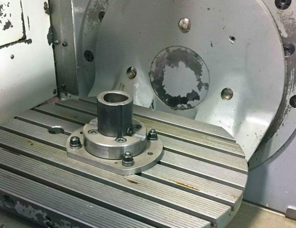 Deckel maho dmg dmu 50 5 axis clue machines used cnc for Maho deckel seebach