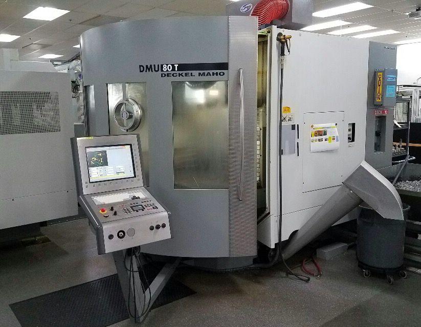 DECKEL MAHO - DMG-DMU 80T 4-Axis Universal