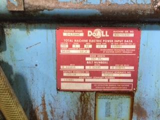 Doall-C-1216-NC. S/N: 456-86101